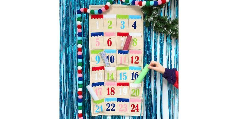 How To:- HTV HobbyCraft Blank Advent Calendar