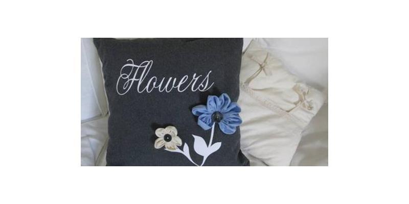 A Flower Cushion