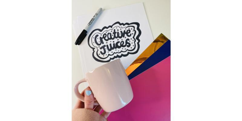 DIY Mug Design using HappyVinyl