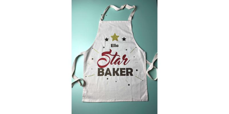 how to make a bake off apron