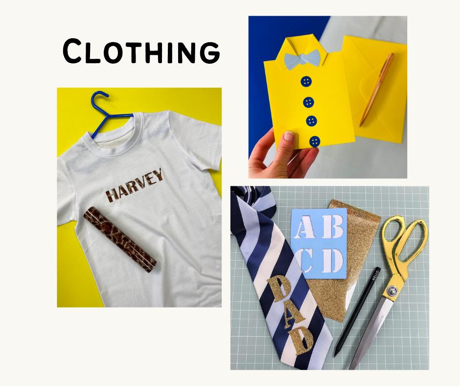 how to personalise clothing uK