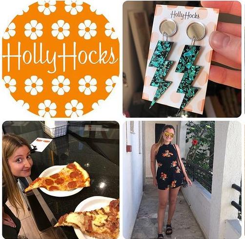 hollyhocks summer challenge